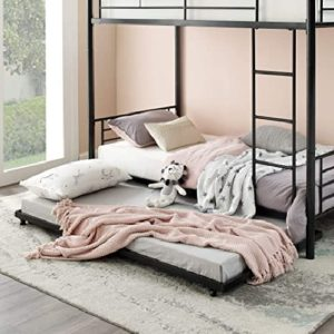 WE Furniture Twin rollout trundle daybed