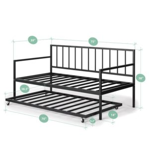 8 Best Daybed With Pop Up Trundle 2021: Ultimate Buying Guide 12