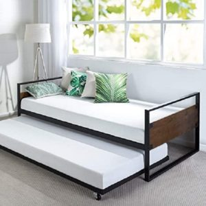 Zinus suzanne twin daybed with pop up trundle