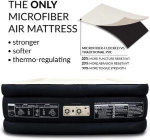 Englander First Ever Microfiber Queen Air Mattress